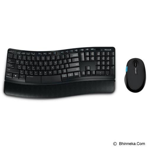 harga MICROSOFT Sculpt Comfort Desktop USB [L3V-00027] Bhinneka.Com